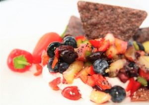 Creamy Fruit Salsa