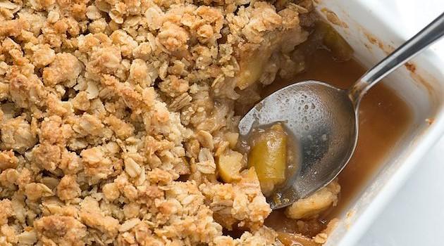 Easy Vegan Apple Crisp