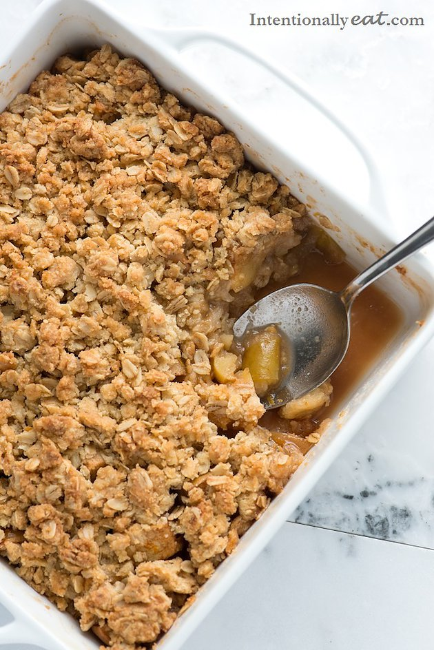 Easy Vegan Apple Crisp