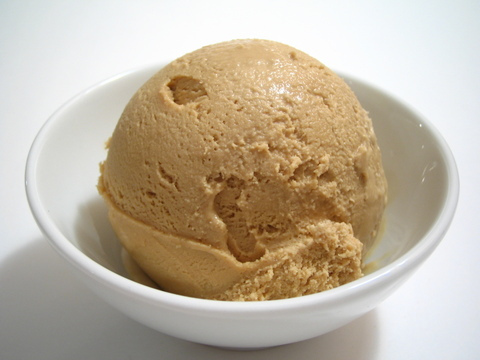 pumpkin spice nice cream healthy ice cream