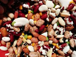 image of many different kinds of dried beans