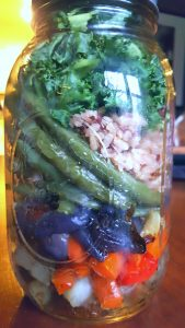 image of buddha bowl in a jar by intentionally eat