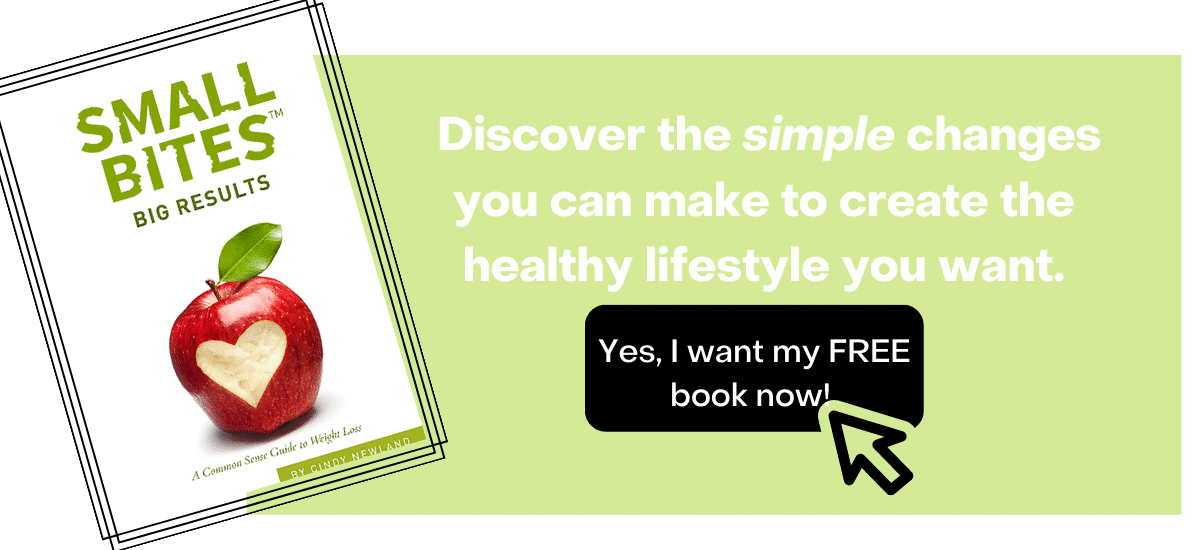 image of Small Bites, Big Results: A Common Sense Guide to Weight Loss by Cindy Newland book. click to get the book for free.